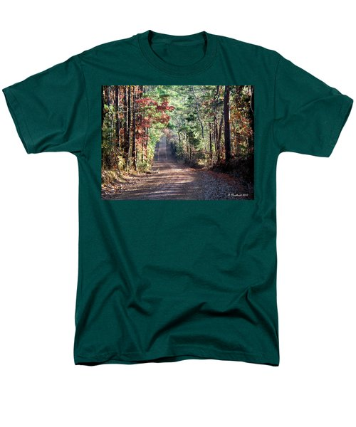 Men's T-Shirt  (Regular Fit) featuring the photograph Going Home by Betty Northcutt