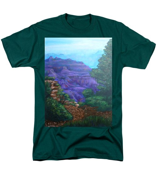 Grand Canyon Men's T-Shirt  (Regular Fit) by Bryan Bustard