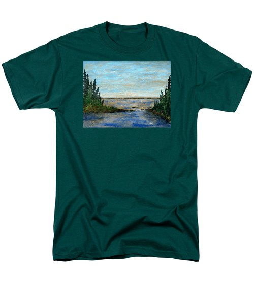 Great Lake Beyond Men's T-Shirt  (Regular Fit) by R Kyllo