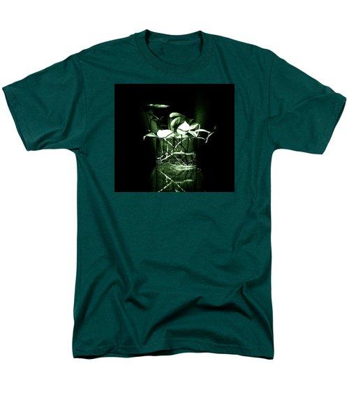 Green Men's T-Shirt  (Regular Fit) by Rajiv Chopra