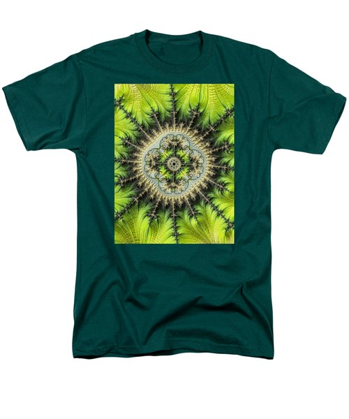 Men's T-Shirt  (Regular Fit) featuring the photograph Green Star by Ronda Broatch