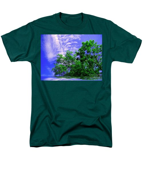 Men's T-Shirt  (Regular Fit) featuring the photograph Heavenly by Elfriede Fulda