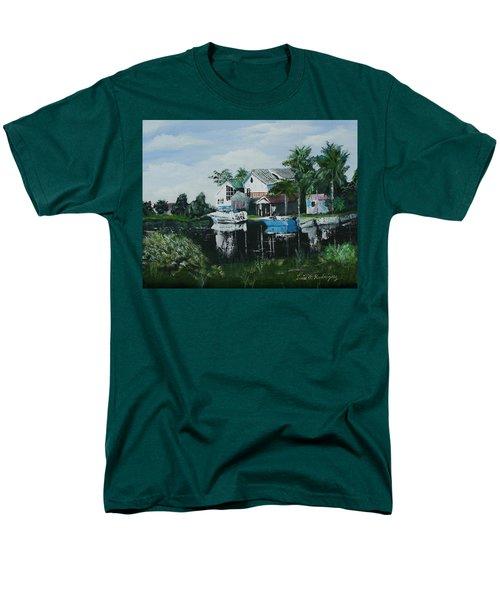 Hernando Beach Men's T-Shirt  (Regular Fit) by Luis F Rodriguez