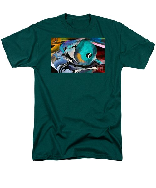 Hey Guy I Am Silly Willy The Fish Men's T-Shirt  (Regular Fit) by Sherri's Of Palm Springs