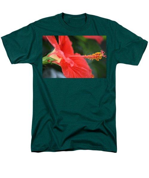 Hibiscus Closeup Men's T-Shirt  (Regular Fit)