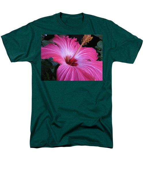 Hibiscus Photograph Men's T-Shirt  (Regular Fit) by Barbara Yearty