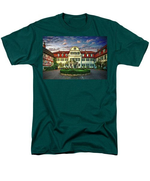 Historic Jestadt Castle Men's T-Shirt  (Regular Fit) by Anthony Dezenzio