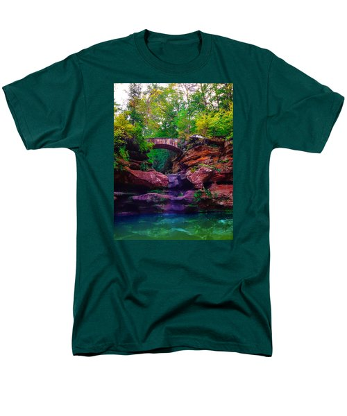 Men's T-Shirt  (Regular Fit) featuring the photograph Hocking Hills State Park 6 by Brian Stevens