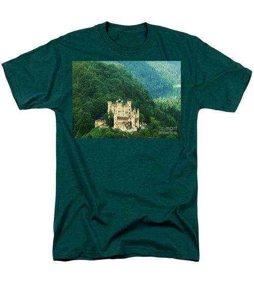 Men's T-Shirt  (Regular Fit) featuring the photograph Hohenschwangau Castle 1 by Rudi Prott