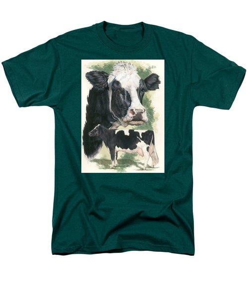 Holstein Men's T-Shirt  (Regular Fit) by Barbara Keith