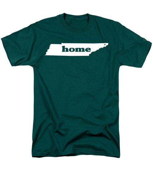 home TN on Green Men's T-Shirt  (Regular Fit) by Heather Applegate