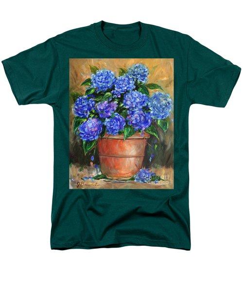 Hydrangeas In Pot Men's T-Shirt  (Regular Fit)
