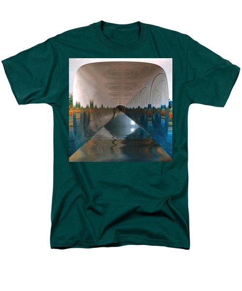 Infinity Home Men's T-Shirt  (Regular Fit) by Mario Carini