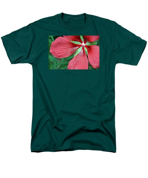 Men's T-Shirt  (Regular Fit) featuring the photograph Island Red by Gina Savage