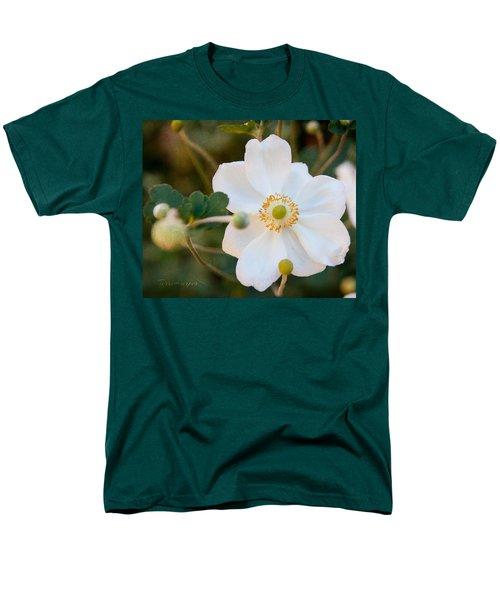 Japanese Anemone Men's T-Shirt  (Regular Fit) by Terri Harper