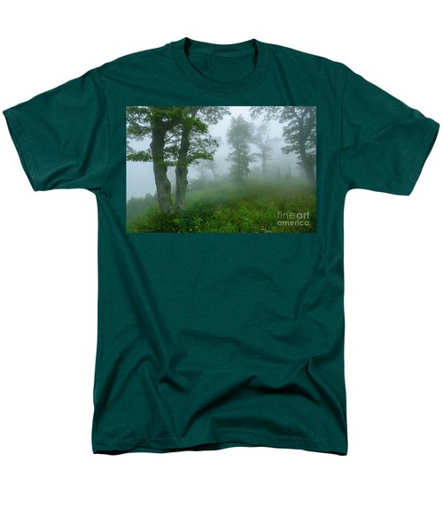Men's T-Shirt  (Regular Fit) featuring the photograph Jewell Hollow Overlook by Thomas R Fletcher