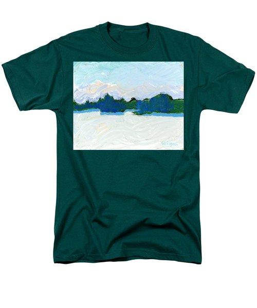Knife Lake Men's T-Shirt  (Regular Fit) by Rodger Ellingson