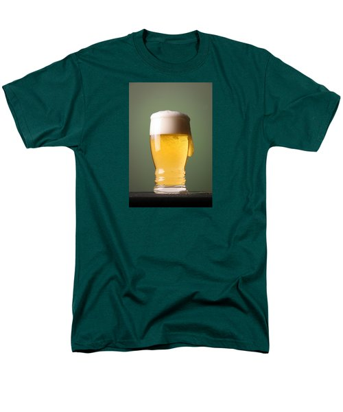 Lager Beer Men's T-Shirt  (Regular Fit) by Silvia Bruno