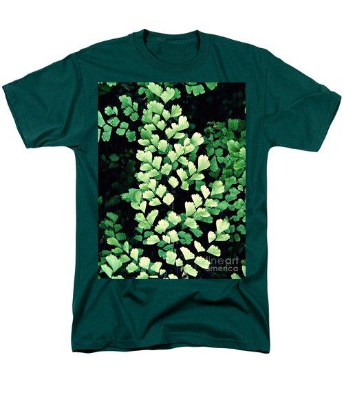 Leaf Abstract 15 Men's T-Shirt  (Regular Fit) by Sarah Loft
