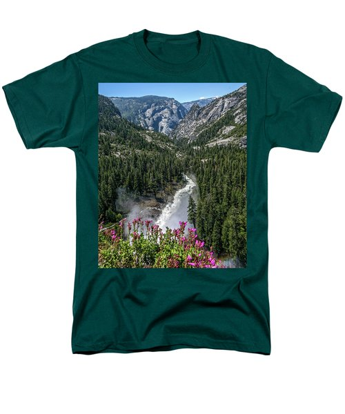 Life Line Of The Valley Men's T-Shirt  (Regular Fit) by Ryan Weddle