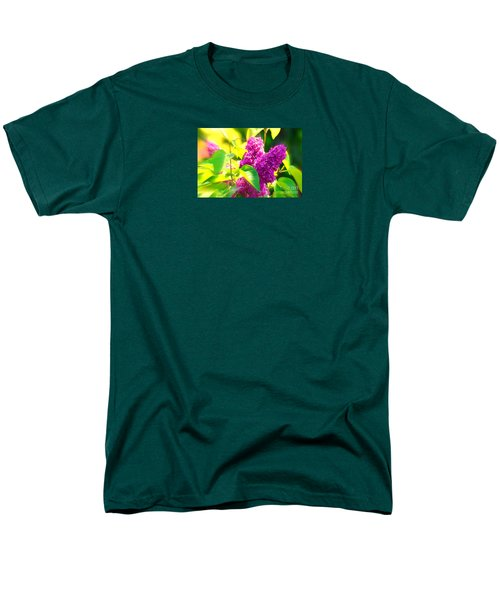 Men's T-Shirt  (Regular Fit) featuring the photograph Lilacs by Susanne Van Hulst