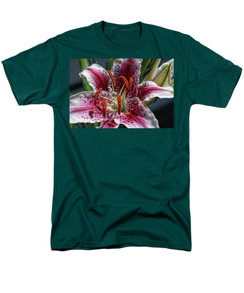 Men's T-Shirt  (Regular Fit) featuring the photograph Lilly Up Close by Rick Friedle