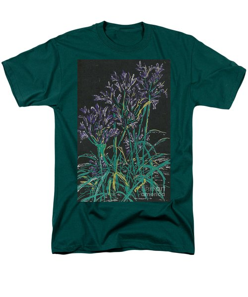 Men's T-Shirt  (Regular Fit) featuring the mixed media Lily Of The Nile  by Vicki  Housel