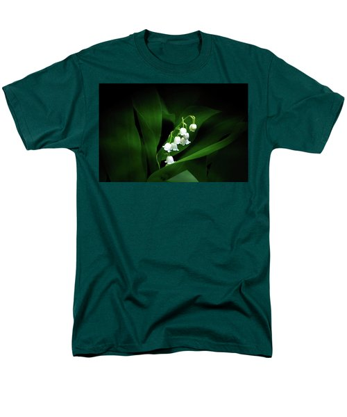 Lily Of The Valley Men's T-Shirt  (Regular Fit) by Judy Johnson
