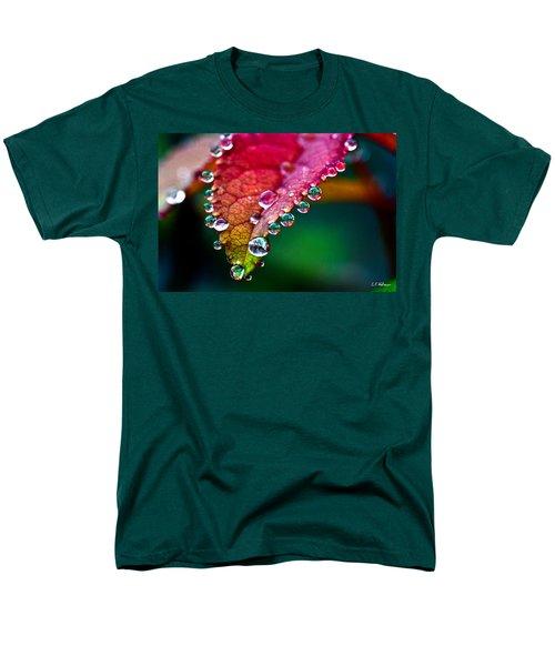 Liquid Beads Men's T-Shirt  (Regular Fit) by Christopher Holmes