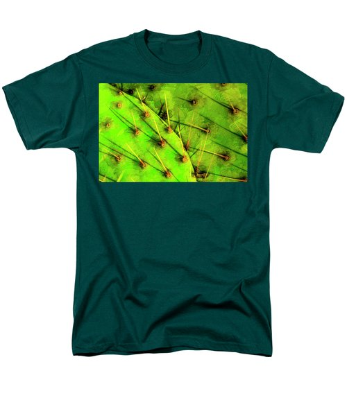 Men's T-Shirt  (Regular Fit) featuring the photograph Prickly Pear by Paul Wear