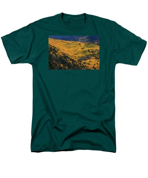 Men's T-Shirt  (Regular Fit) featuring the photograph Lockett Meadow Shines by Tom Kelly