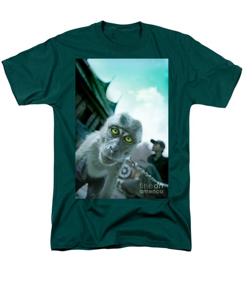 Look Into My Eyes Men's T-Shirt  (Regular Fit) by Charuhas Images