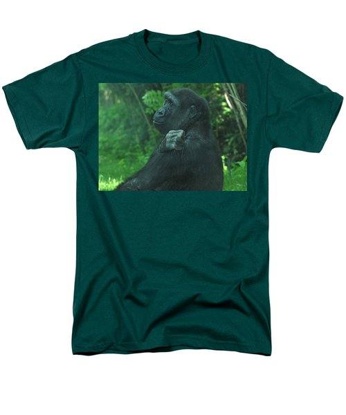 Men's T-Shirt  (Regular Fit) featuring the photograph Lost In Thought by Richard Bryce and Family
