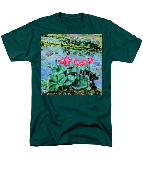 Lotus Men's T-Shirt  (Regular Fit) by Alexandra Maria Ethlyn Cheshire