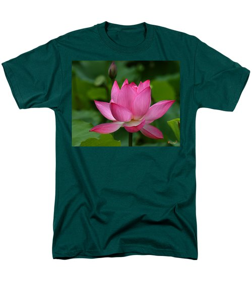 Lotus--shades Of Past And Future Dl029 Men's T-Shirt  (Regular Fit) by Gerry Gantt