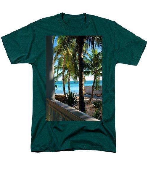 Louie's Backyard Men's T-Shirt  (Regular Fit) by Susanne Van Hulst