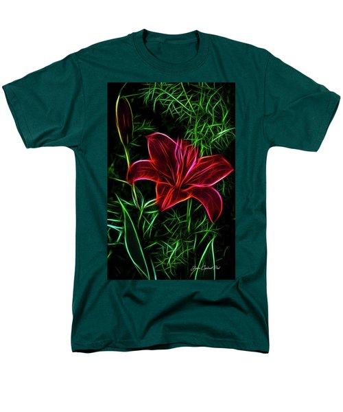 Luminous Lily Men's T-Shirt  (Regular Fit)