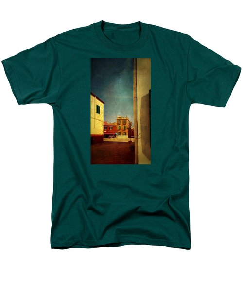 Men's T-Shirt  (Regular Fit) featuring the photograph Malamocco Glimpse No1 by Anne Kotan
