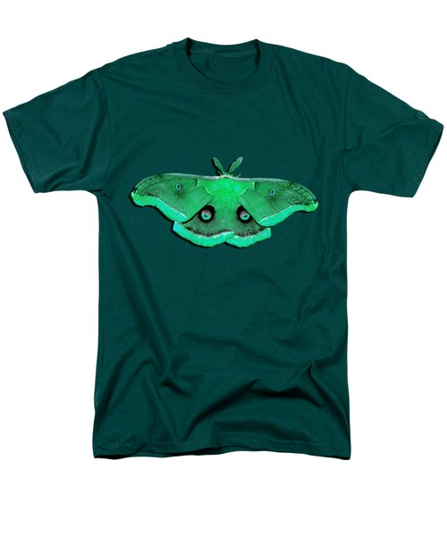Male Moth Green .png Men's T-Shirt  (Regular Fit) by Al Powell Photography USA