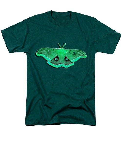 Male Moth Green .png Men's T-Shirt  (Regular Fit)