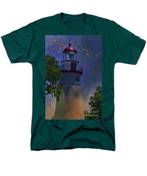 Marblehead In Starlight Men's T-Shirt  (Regular Fit) by Joan Bertucci