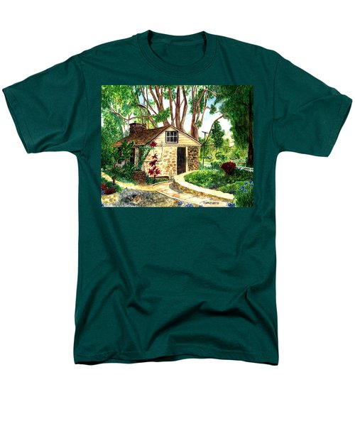 Maui Winery Men's T-Shirt  (Regular Fit) by Eric Samuelson