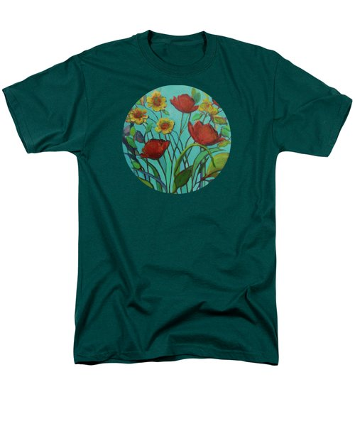 Memories Of The Meadow Men's T-Shirt  (Regular Fit) by Mary Wolf