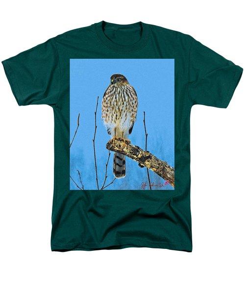 Men's T-Shirt  (Regular Fit) featuring the digital art Merlin    Not The Majician by John Selmer Sr