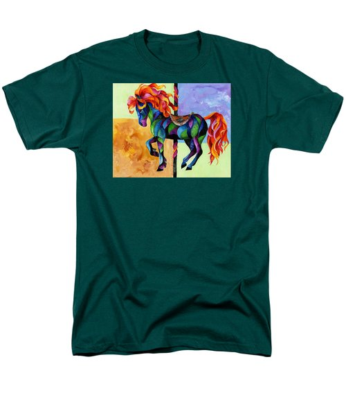 Midnight Fire Men's T-Shirt  (Regular Fit) by Sherry Shipley