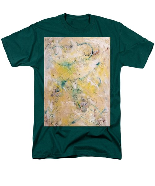 Mixed-media Free Fall Men's T-Shirt  (Regular Fit) by Gallery Messina