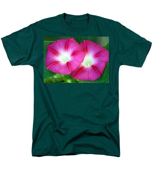 Morning Glories Men's T-Shirt  (Regular Fit) by Sheila Brown