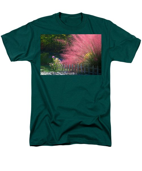 Men's T-Shirt  (Regular Fit) featuring the photograph Muhly Grass by Kathryn Meyer