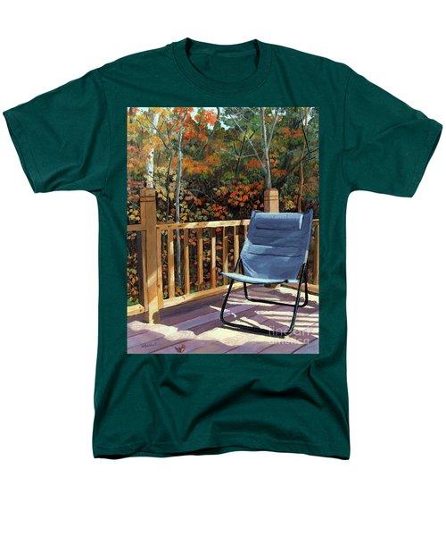 My Favorite Spot Men's T-Shirt  (Regular Fit) by Lynne Reichhart