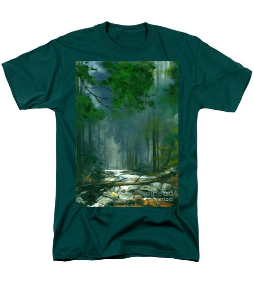 My Secret Place II Men's T-Shirt  (Regular Fit) by Michael Swanson